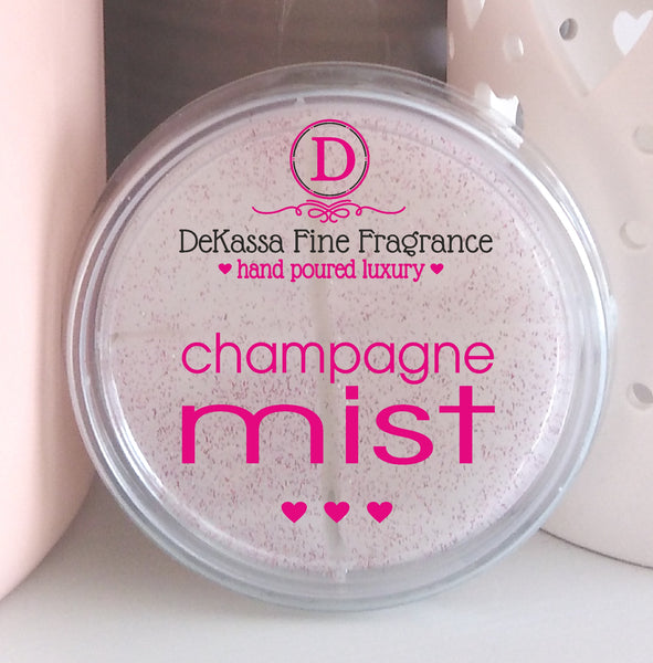 Champagne Mist Highly Scented Wax Melt - up to 40 burning hours!