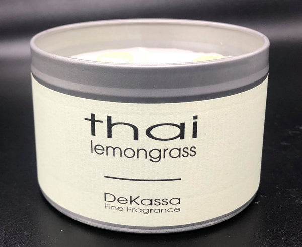 Thai Lemongrass Luxury Scented Candle Tin - Fantastic Fragrance