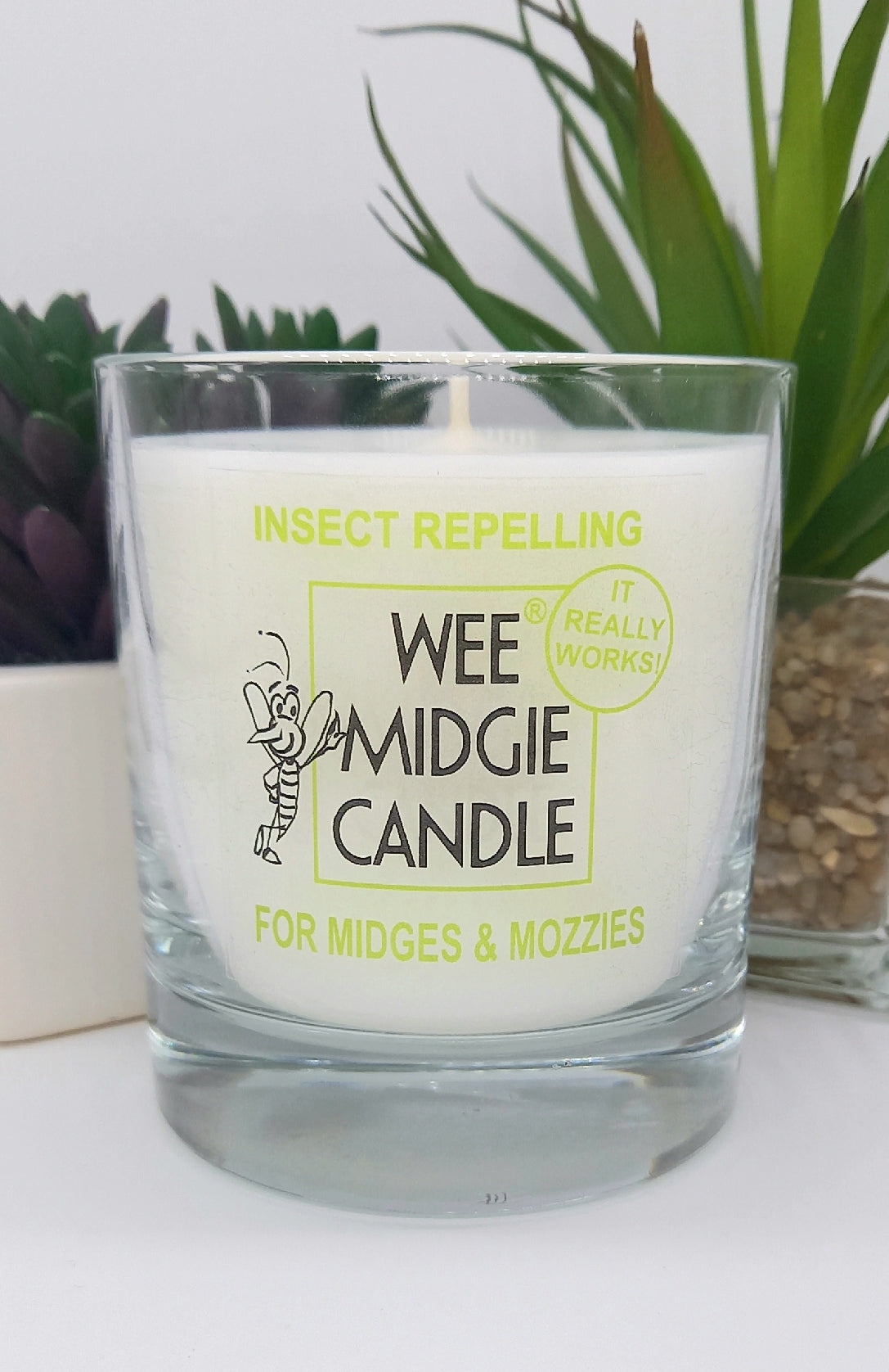 Wee Midgie Insect Repelling Candle Jar