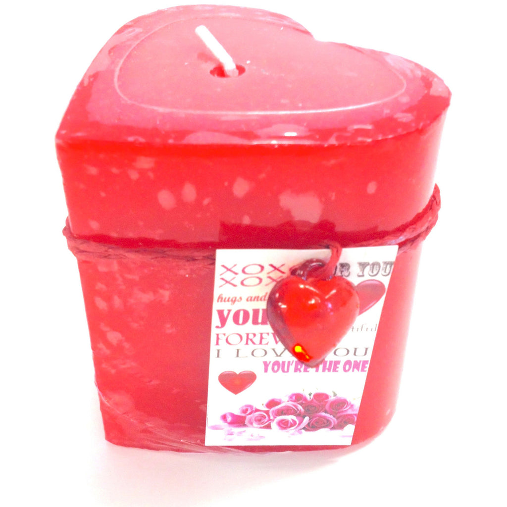 Heart Shaped Scented Candle (GST Included)