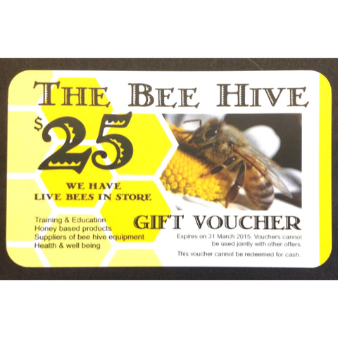 GIFT VOUCHER $25-00 (GST Included)