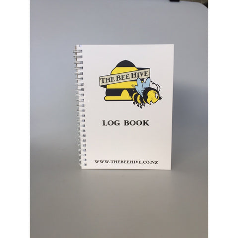 The Bee Hive Log Book GST Included