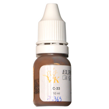 Load image in gallery viewer,Pigment C33 Light Chestnut Brown 10ml Euro-Touch