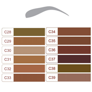 Pigment C33 Light Chestnut Brown 10ml Euro-Touch