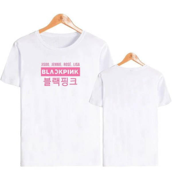 T Shirt Kpop Blackpink