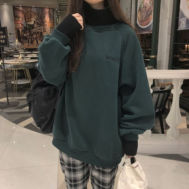 Sweat Oversize Fille