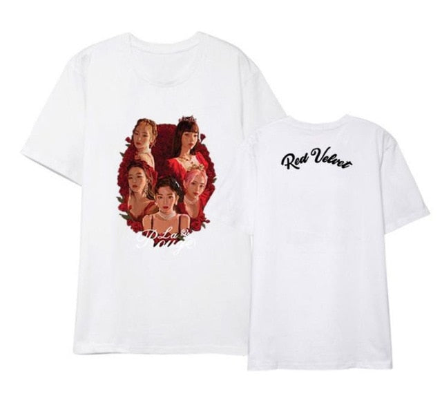 T-Shirt Red Velvet La Rouge
