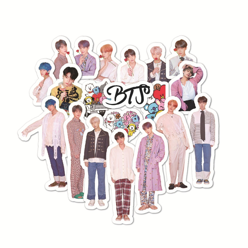 Stickers BTS Vintage 40pc