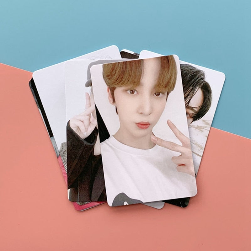 8 Cartes photo Ateez