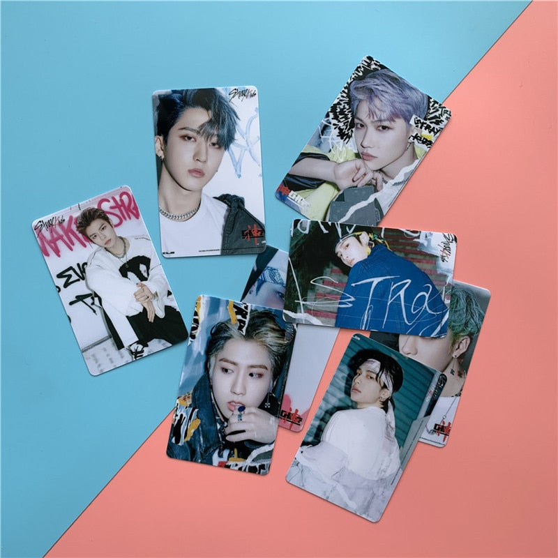 10 Cartes photo Stray Kids Go