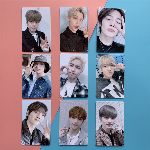 9 Cartes photo Stray Kids