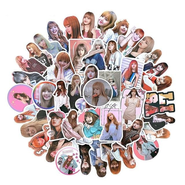 Stickers Blackpink Photo 50pc