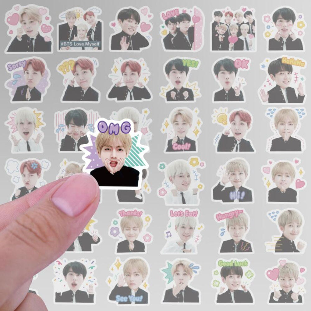 Stickers BTS Bande Dessinée 40pc