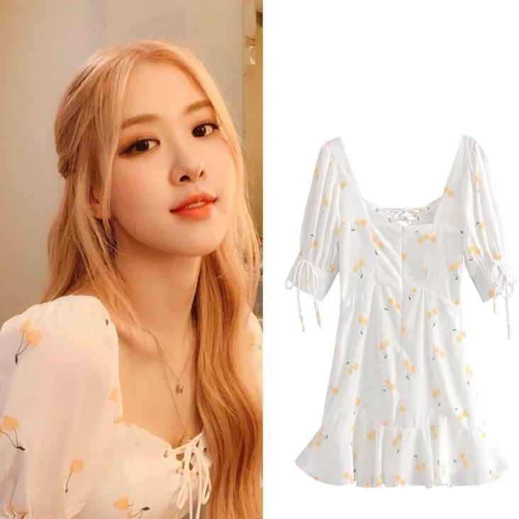 Robe Blackpink Rosé