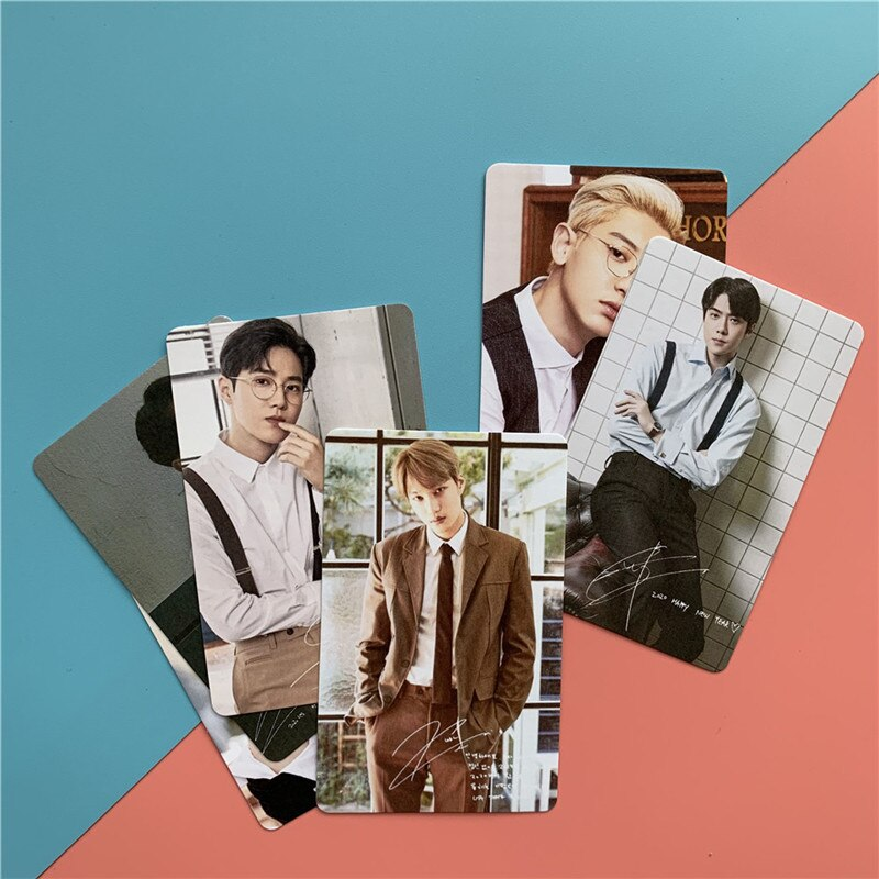 6 Cartes Photo Exo Seasons Greetings
