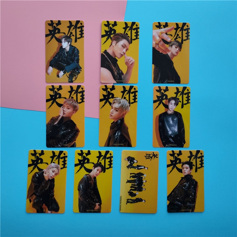 10 Cartes photo NCT 127