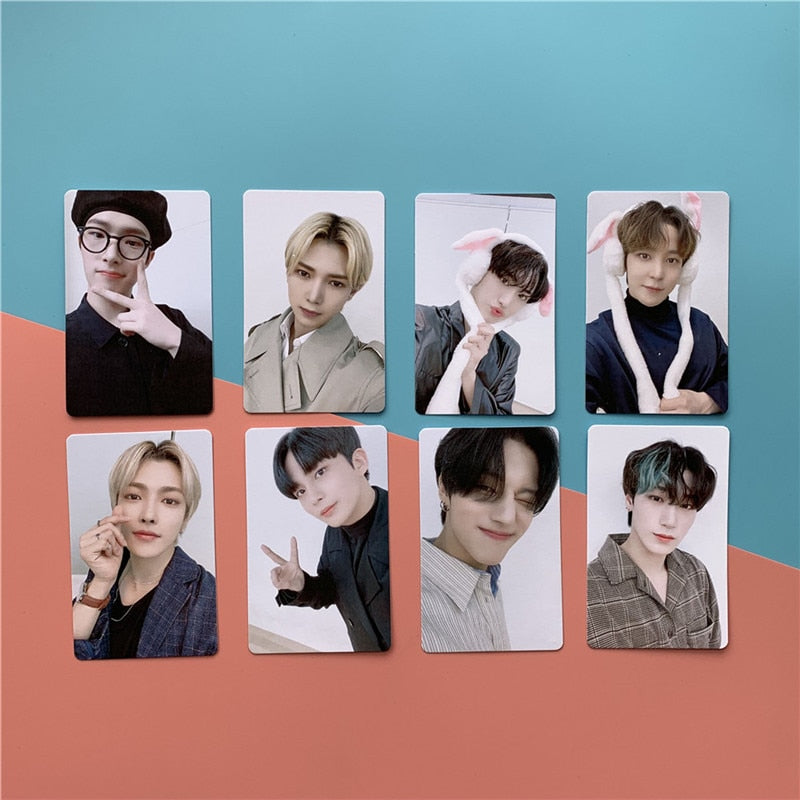 8 Cartes photo Ateez Treasure Epilogue