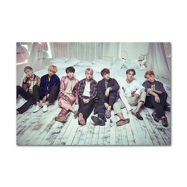 Poster BTS Chambre