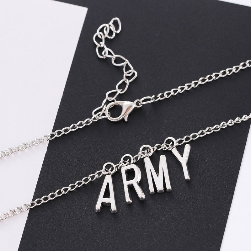 Collier BTS Army