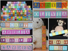 Baby Alphabet Blocks