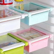 Multi-purpose Refrigerator Fresh Spacer Layer Storage Box Kitchen Food Container Storage Rack Pull-out Drawer Fresh Organizer