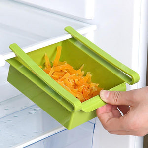 Refrigerator Shelf Storage Rack Pull Type Food Preservation Box Eco Friendly Plastic Container Kitchen Organizer Tools