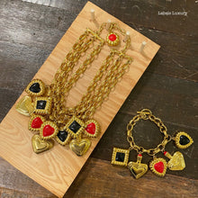 Load image into Gallery viewer, ESCADA Play Your Cards Right Necklace Set - Labels Luxury