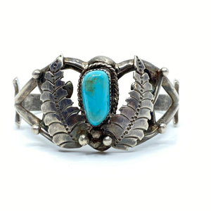 Turquoise Cuff Bracelet - Labels Luxury