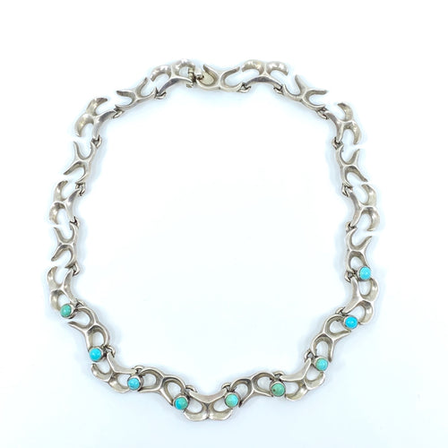 TAXCO Turquoise Necklace - Labels Luxury