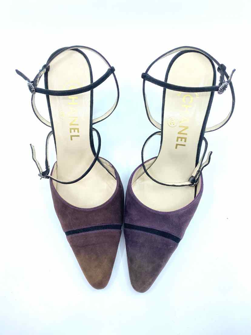 CHANEL Plum Pumps | 8.5 - Labels Luxury