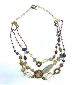 STEPHEN DWECK Beige Necklace - Labels Luxury