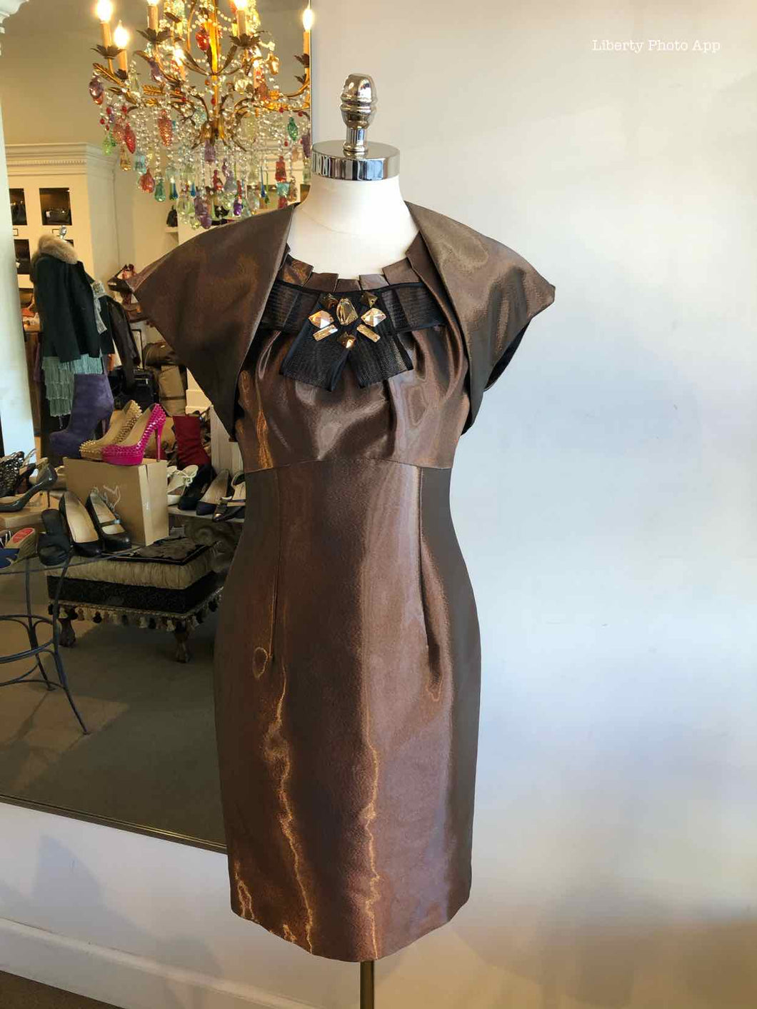 ESCADA Copper Dress Set | 4 - Labels Luxury