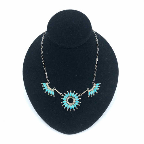 ZUNI Turquoise Necklace - Labels Luxury