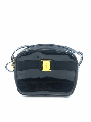 SALVATORE FERRAGAMO VINTAGE Black Handbag - Labels Luxury