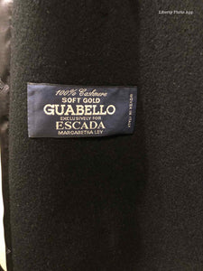 ESCADA Size 8 Black Coat - Labels Luxury