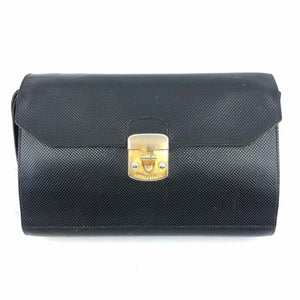 BOTTEGA VENETA Black Leather Wristlet - Labels Luxury