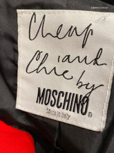 Load image into Gallery viewer, MOSCHINO Red Blazer | 4 - Labels Luxury
