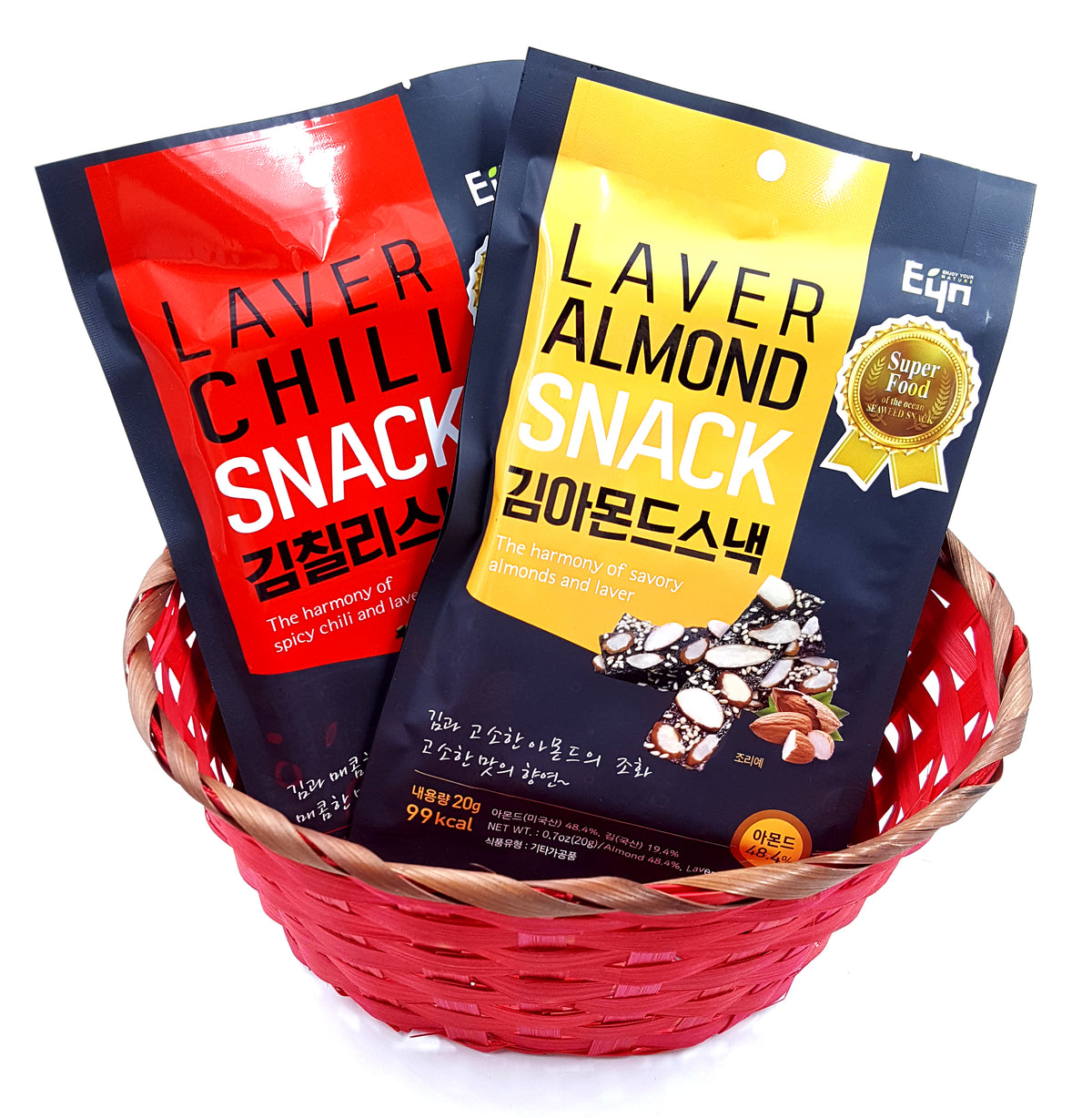EYN Seaweed Snack combination- 1 of each flavor