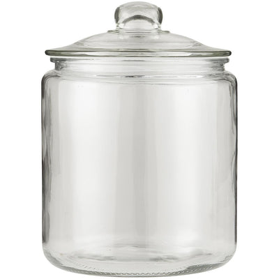 Norfolking Around Glass Jar with Glass Lid - 4000ml
