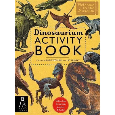 bookspeed Dinosaurium Activity Book