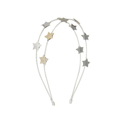Mimi and Lula Arctic star double alice band