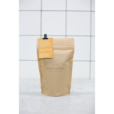 Bare Bones Chocolate - 70% Madagascar Dark Hot Chocolate Bag 250g