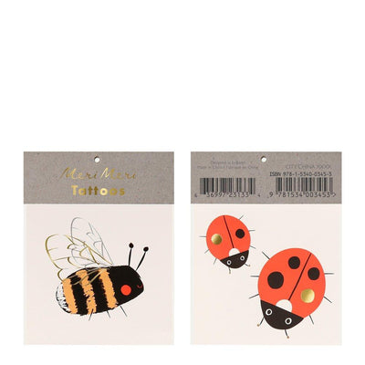 Meri Meri Bee & Ladybird small Tattoos