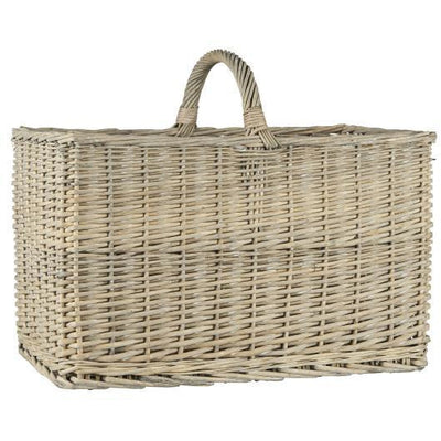Norfolking Around Basket with handle