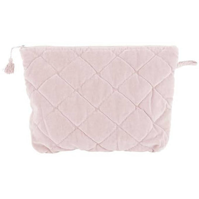 Rose Velvet Toiletries Bag