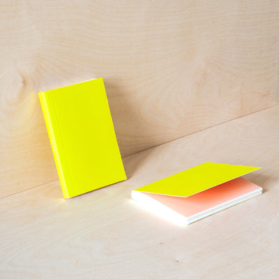 Ola Layflat Weekly Pocket Planner in Yellow/Pink