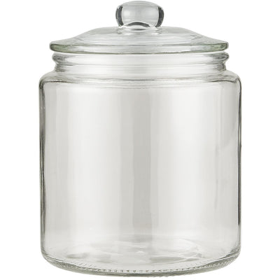 Norfolking Around Glass Jar with Glass Lid - 900ml