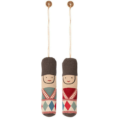 Maileg Guard Ornament, Set of 2