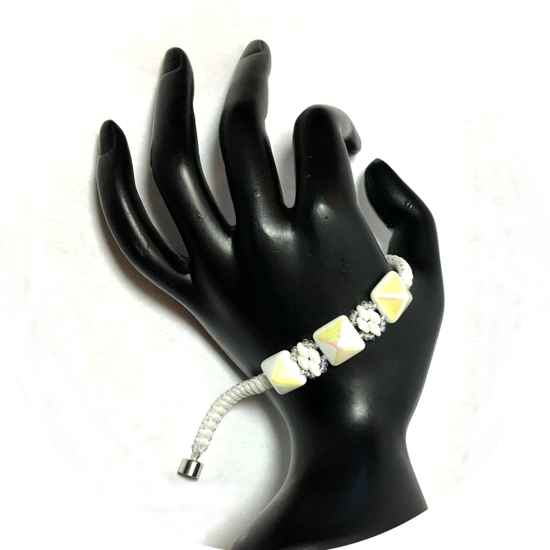 Hand Made Bracelet - Original designer Beaded Bracelets using finest glass beads. Unique Gorgeous Bracelets