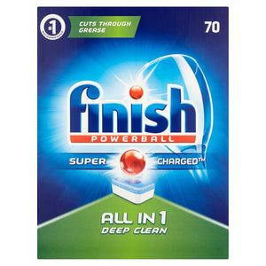 Finish Powerball All In 1 Dishwasher Tablets - 100 tablets